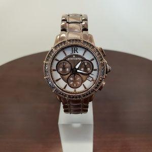 Judith Ripka Chronograph Brown Steel Womens Watch